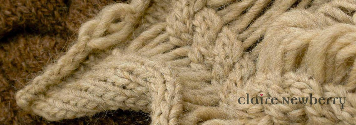 Knitting Freelance : Freelance knitwear designer claire newberry